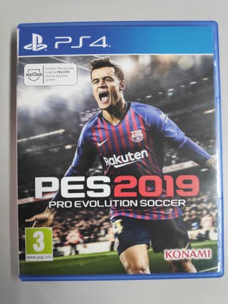 PES 2019 (Pro Evolution Soccer) - PS4