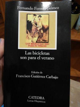 """libro """"las bicicletas son para verano"""""""