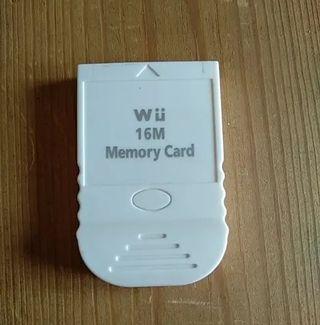 Tarjeta de memoria Gamecube y wii