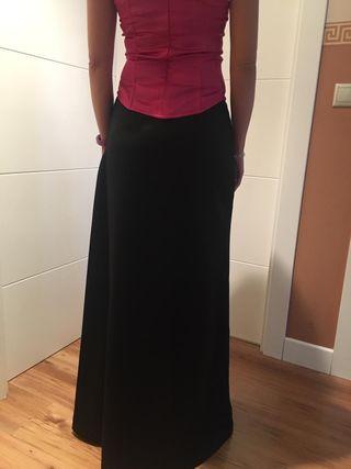 Falda larga boda