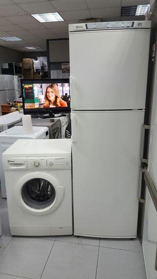 pack lavadora y nevera con grantia