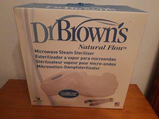 NUEVO. Dr Brown Esterilizador Biberones microondas