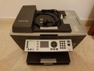 Impresora multifunción Lexmark X8350 con fax
