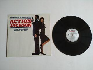 Lp soundtrack Action Jackson