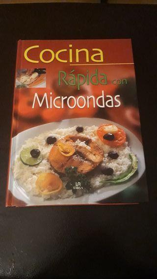 Libro Cocina rápida con microondas