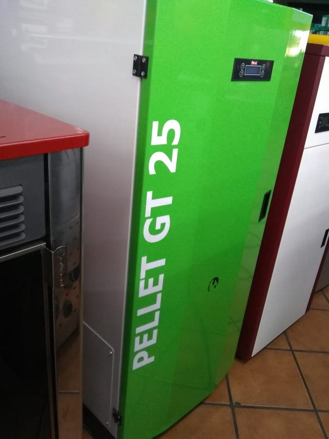 CALDERA PELLETS 25 KW