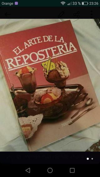 4 libros de cocina repostería
