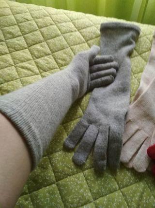 Guantes de lana Estilo Gilda (4€ el par)