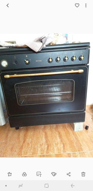 Cocina gas +horno