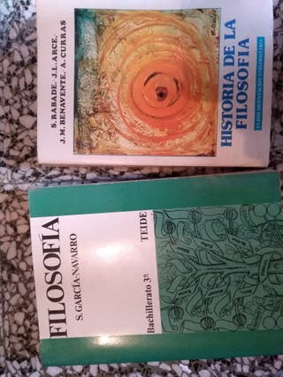 """libros """"Historia de la filosofía"""""""