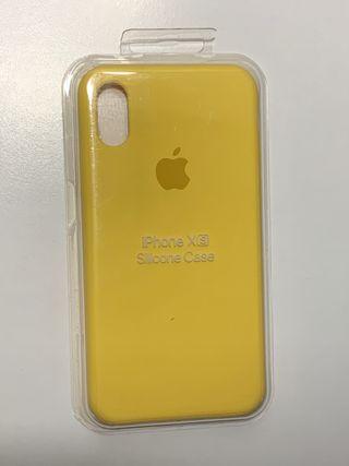 Funda silicona iPhone Xs