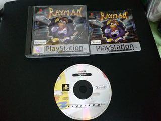 Juego Rayman Playstation 1
