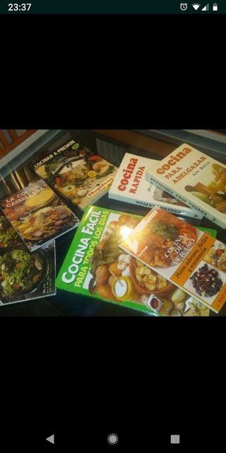Libros de recetas cocina.lote 5€