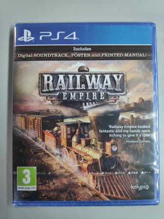 Railway Empire - PS4 - Nuevo