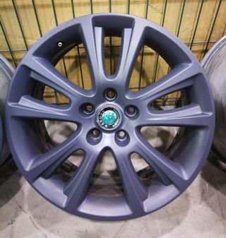 Juego llantas Octavia RS 18 pulgadas gun metal