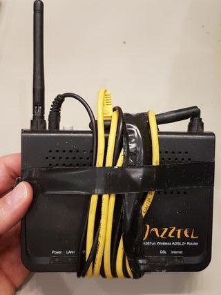 router jazztel adsl 2+