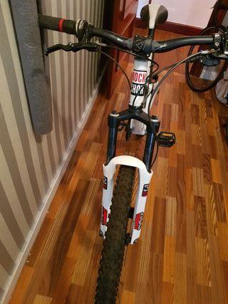 bicicleta de descenso o freeride