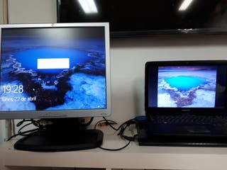 Pantalla monitor ordenador pc Hp