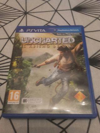 Videojuego Uncharted para psvita