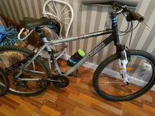 bicicleta aluminio con suspension bh