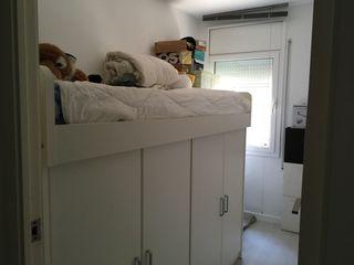 Cama y armario de kibuc