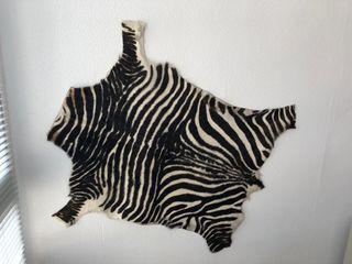 alfombra de cebra