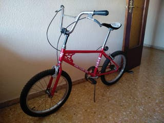 bicicleta BH meteor roja