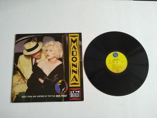 Lp soundtrack Dick Tracy Madonna