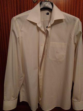 camisa hombre traje burberry