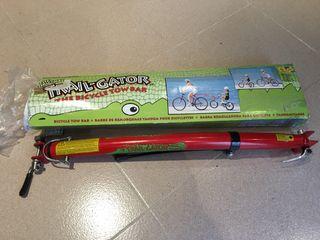 Barra remolque bicicletas niños