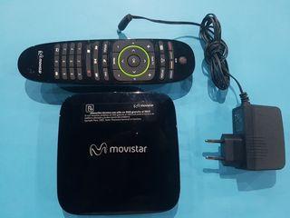 Decodificador TV Movistar + Mando