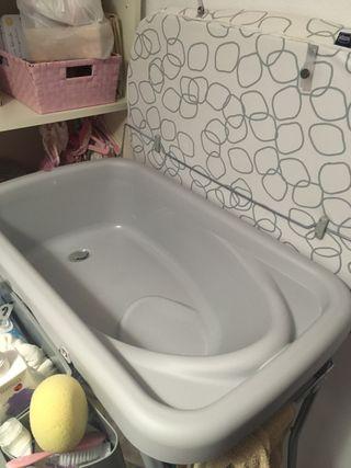 Cambiador -bañera