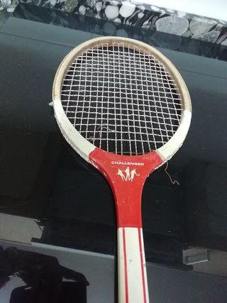 raqueta antigua challenger