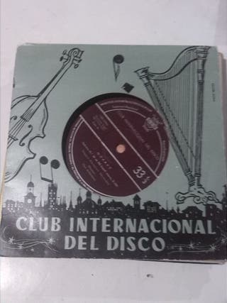 MOZART CLUB INTERNACIONAL DEL DISCO SINGLE