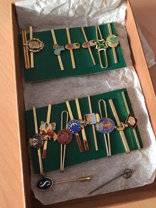 Colección corbateros