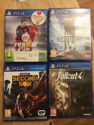 Ps4 Pro Boxed + Games
