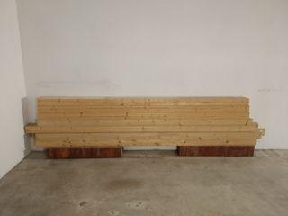 7 vigas madera laminada