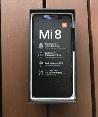Xiaomi Mi8. Factura y Garantía