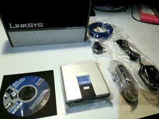 Router Linksys Nuevo.