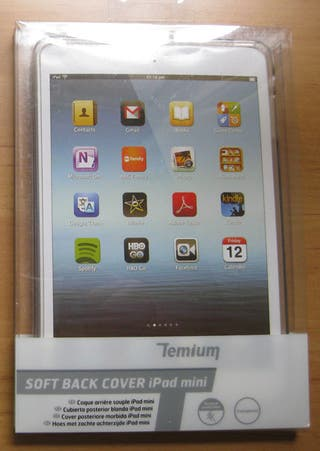 Funda iPad Mini trasera transparente
