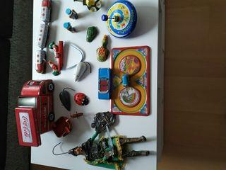 lote juguetes hojalata