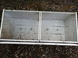 jaula modular para cria canarios