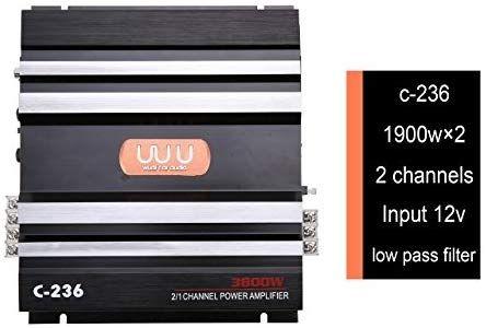 amplificador de 3800W