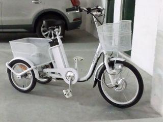 bici triciclo eléctrico de adulto