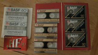 cintas cassette precintadas