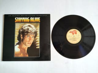 Lp soundtrack Staying Alive