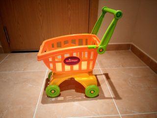 Carrito compra juguete