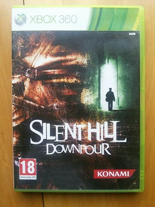 Juegos XBOX 360 (Silent Hill Downpour)
