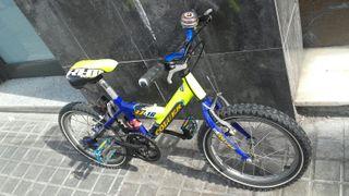 """Bicicleta montaña Coluer 16"""""""