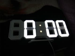 reloj digital.